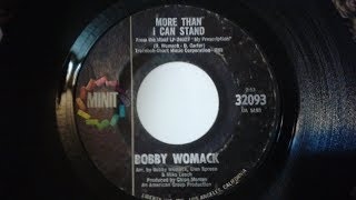 Blues Jukebox: Bobby Womack- More Than I Can Stand