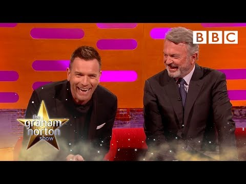 Ewan McGregor on being recognised as Obi-Wan Kenobi: The Graham Norton Show 2016 | Extra - BBC One