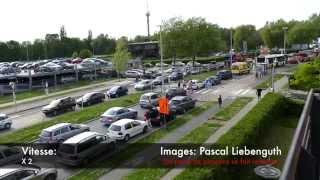 Jette - Tram 9 - Des ambulances et des pompiers bloqués! PARTAGEZ EN MASSE!