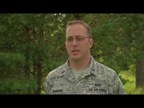 1st Lt Bradly Hammond - Estonia Flying Training Deployment Exercise