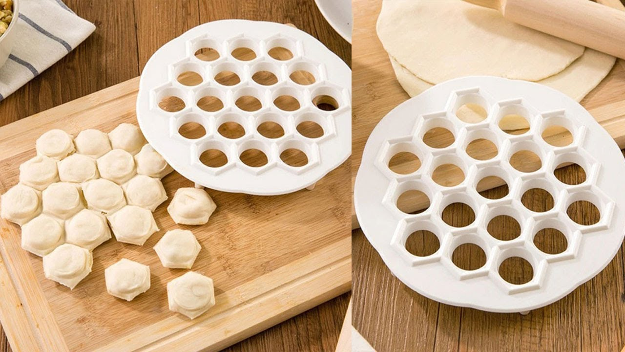 DIY Italian Dumpling Mold Round Ravioli Maker Kitchen Pastry Tools Gadget/_g.rd