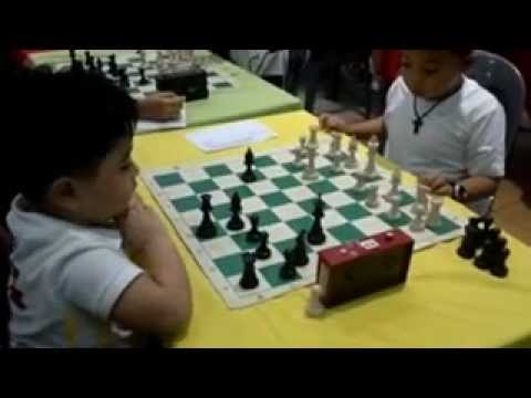 Chess: 3 Year Old Kid wins over a 6 year old opponent in Tournament