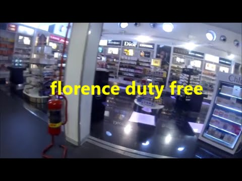 FLORENCE AIRPORT DUTY FREE ITALY TRAVEL HD