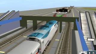 Trainz 12: {Daniel Town Commuter Railroad (DTCR)} Fictional Route (AMTRAK)