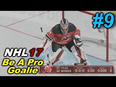 NHL 17 – Be A Pro Goalie – Episode 9: 1st NHL Start