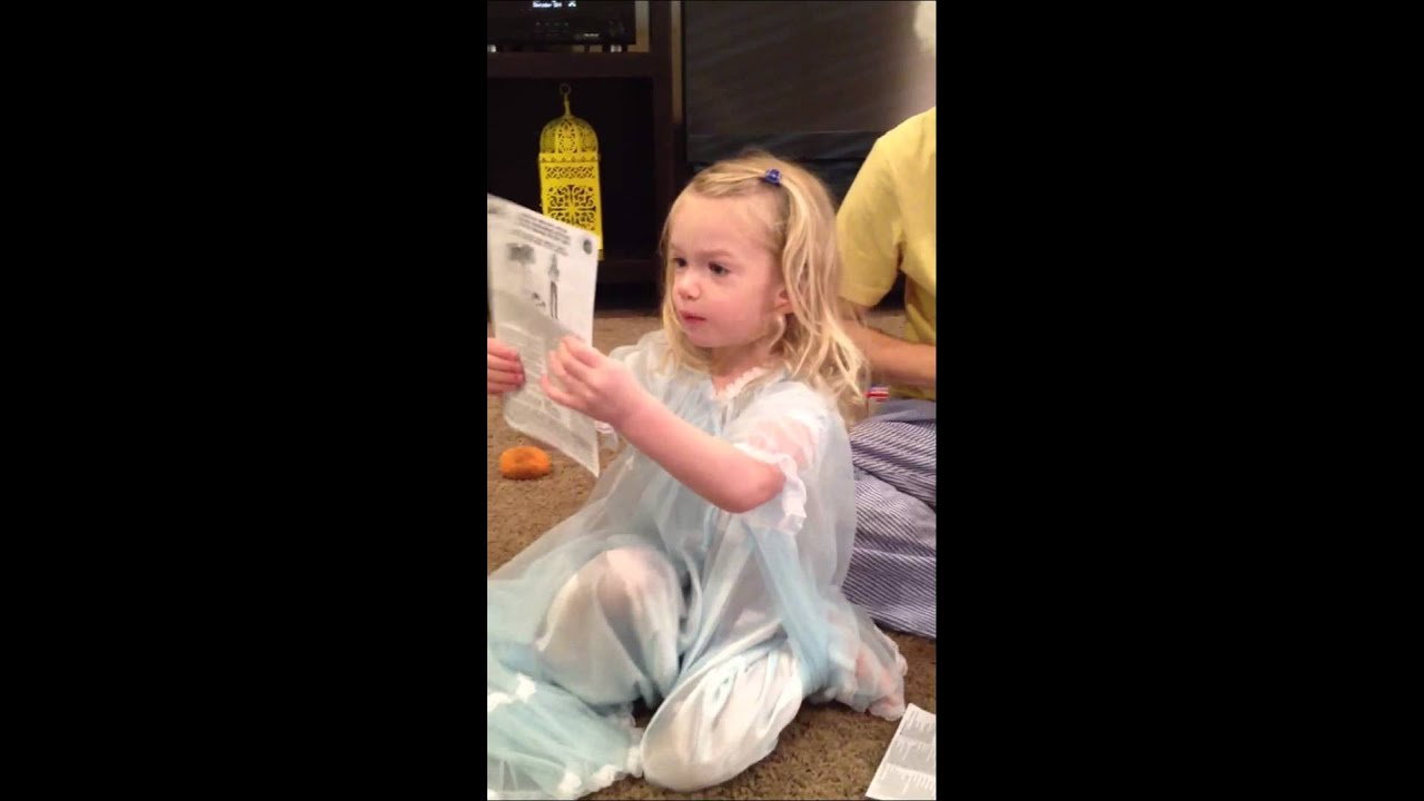 f9dc124e66 Lily in her new nightgown - YouTube