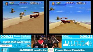 Super Star Wars by Striker, Danzel_Glovington in 26:47 - Awesome Games Done Quick 2016 - Part 22