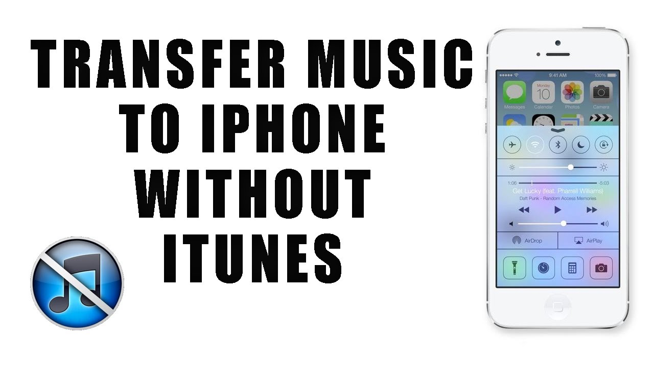 How To Transfer Music From Pc To Iphone Without Itunes