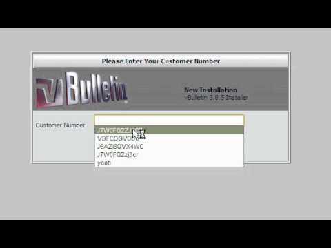 vBulletin Forum Error [ Help please! ]