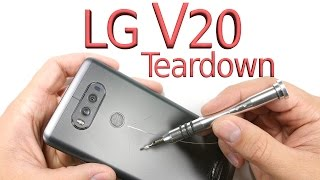 lg v20 teardown screen repair battery swap charging port fix