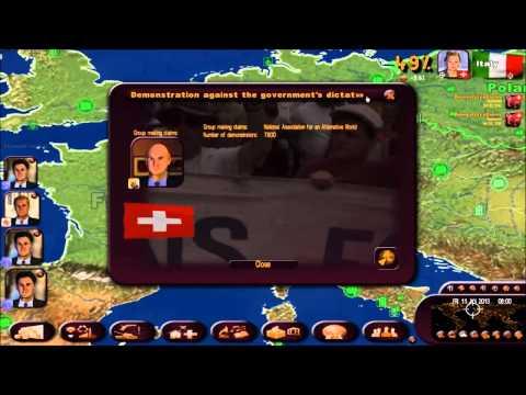 Politiksimulator 3/Rulers of the World  007   Zeitung deutsch/schwäbisch