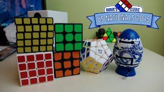 Cubes I Got at US Nationals 2015!