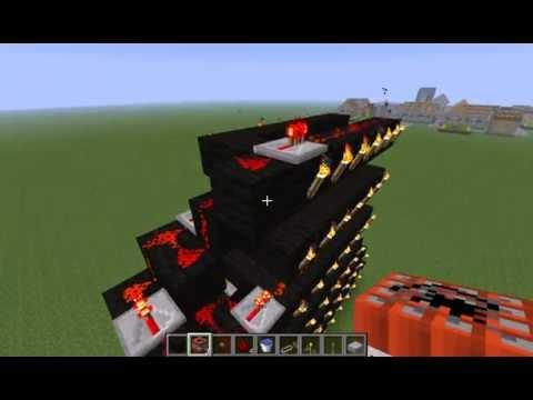 minecraft le plus puissant canon a tnt youtube. Black Bedroom Furniture Sets. Home Design Ideas