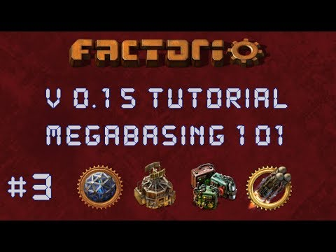 Factorio 0.15 Megabasing 101 Tutorial EP3: Completed Smelter - Multiplayer, Gameplay, Let's Play