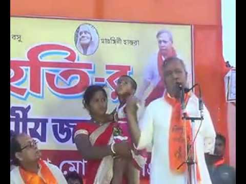 নন্দীগ্রামে পুলিশকে হুঁশিয়ারি তপন ঘোষের। Nandigram speech of Tapan Ghosh