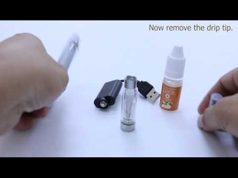 eGo-T CE5 Complete Starter Kit 1100mAh Electronic Cigarette with USB Charger Set UP
