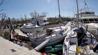 Boot Key Harbor after Irma