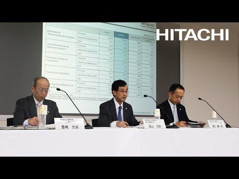 Meeting for institutional investors and financial analysts on FY2015 earnings – Hitachi
