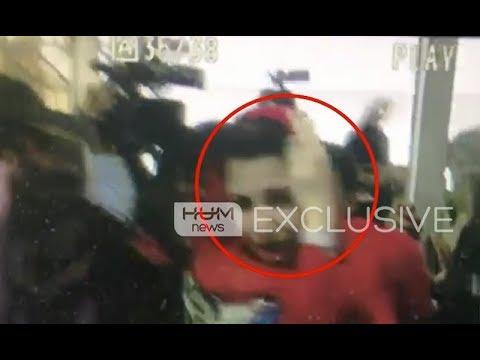 Maryam Nawaz hurts by a cameraman
