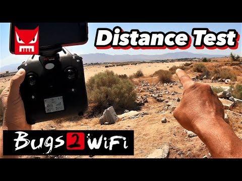 MJX Bugs B2W Distance Test