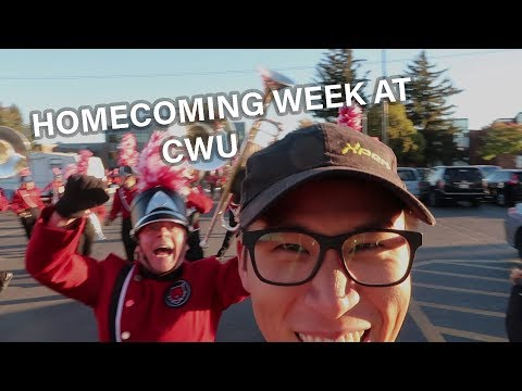College week of my life: CWU Homecoming Week / CWU Marching Band / AUAP Campus Friend /