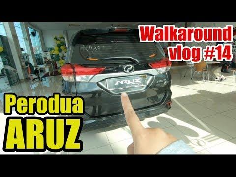 PERODUA ARUZ SUV 2019 - Walkaround | #Vlog 014