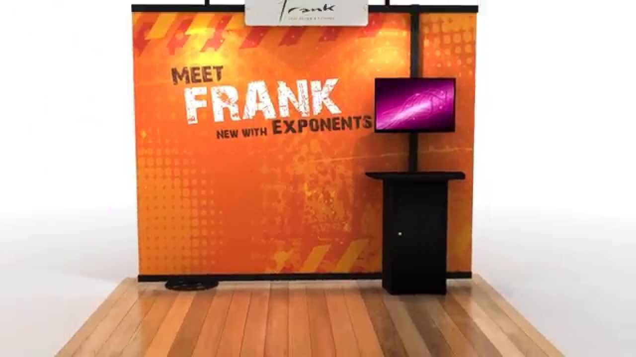 Exhibition Stand Guide : Set up guide for frank™ exhibition stand display stand youtube