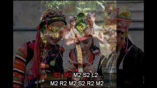 [Tình Ca Tây Bắc] - Karaoke Beat Cảm Âm Cho Sáo Trúc C5 Tone Đô
