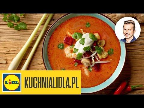 Pikantna Zupa Tajska Z Krewetkami Karol Okrasa Przepisy