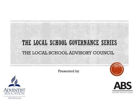 The Local School Advisory Council