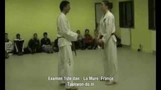 Test for 1st degree ITF Taekwon-do