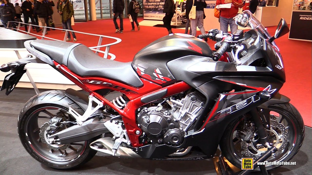 2016 honda cbr650f walkaround 2015 salon de la moto. Black Bedroom Furniture Sets. Home Design Ideas