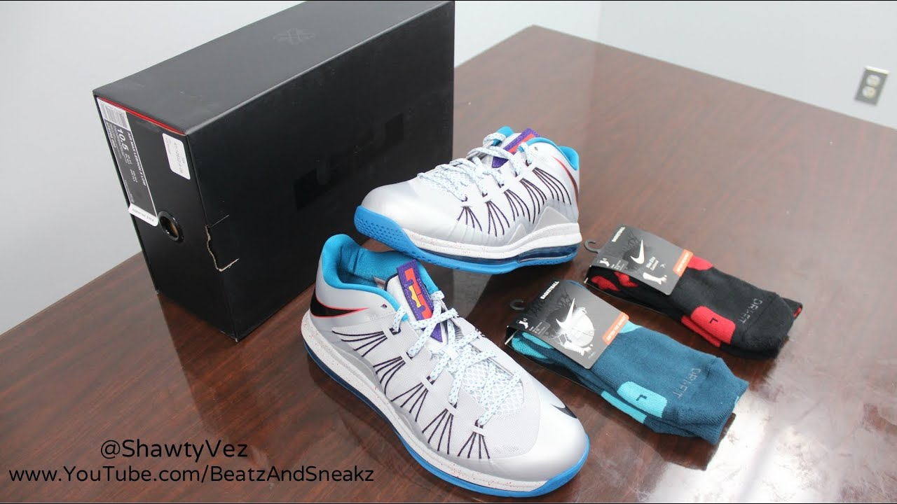 brand new a18c8 57a9c Nike LeBron X Low Akron Aeros Review