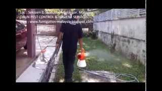 Mosquitoes Control Aedes (denggi)   Ulv Misting Method 2014
