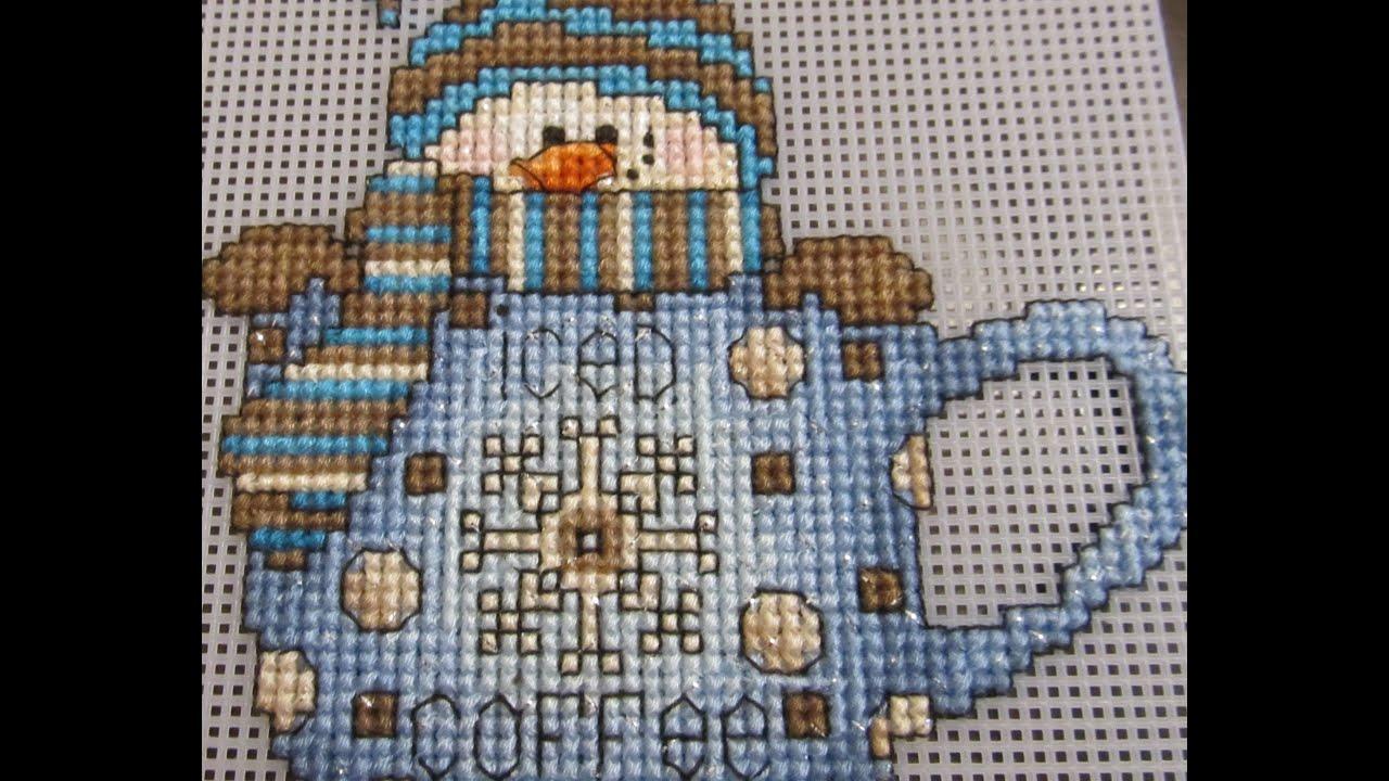 Снеговик вышивка купить