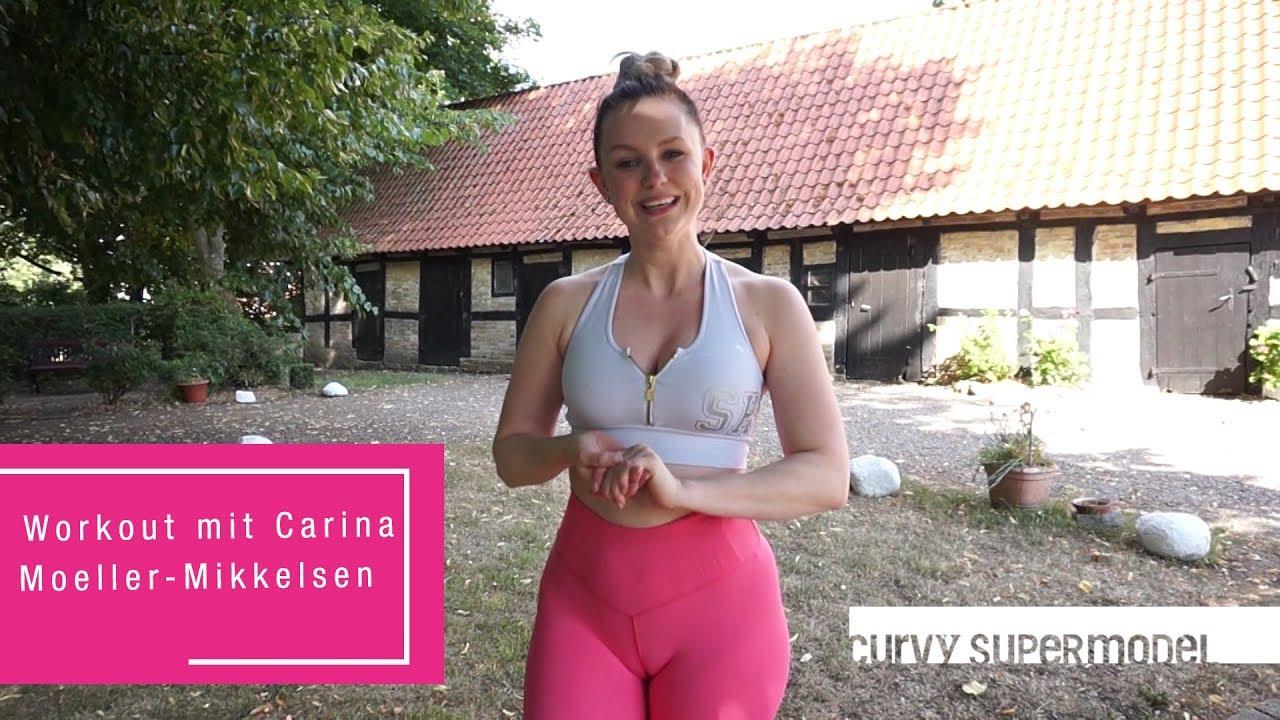 Curvy Supermodel - Workout mit Carina Moeller-Mikkelsen - RTL II