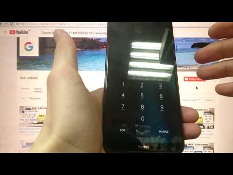 Xiaomi RedMi Note 8T Hard reset Note 8 Удаление пароля