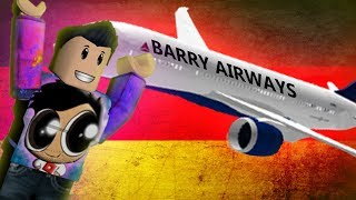 Barry Gone To Germany! - ROBLOX -
