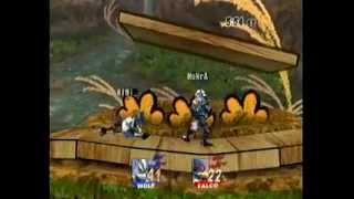SSBB: Rae(Falco) vs MoNrA(Wolf)