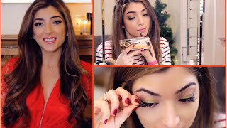 Get Ready With Me: Holiday Party Edition | Amelia Liana Thumbnail