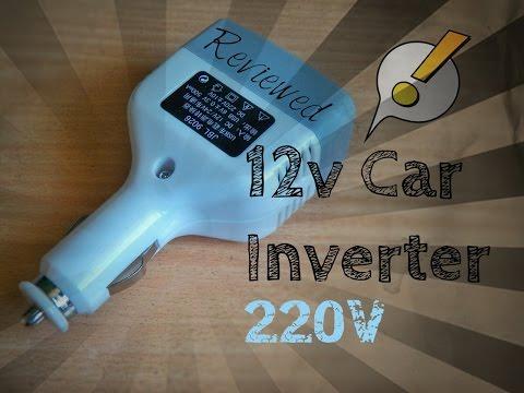 Solar Inverter made from 12v Car Inverter