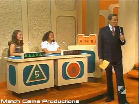 Match Game 77 Episode 1051 Gary's Kisses Small Mic for Gene