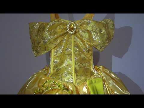 Vestido Princesa Bella Para Niña Disfraz Youtube