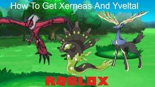 XERNEAS and YVELTAL? Roblox Pokemon Brick Bronze