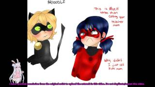 """""""Call Me Daddy (By Accident)"""" - Miraculous Ladybug Comic Dub"""