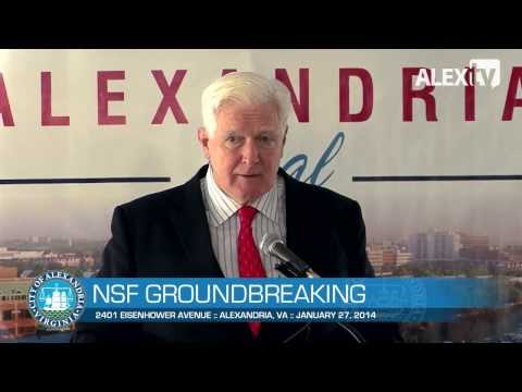 National Science Foundation Groundbreaking Ceremony