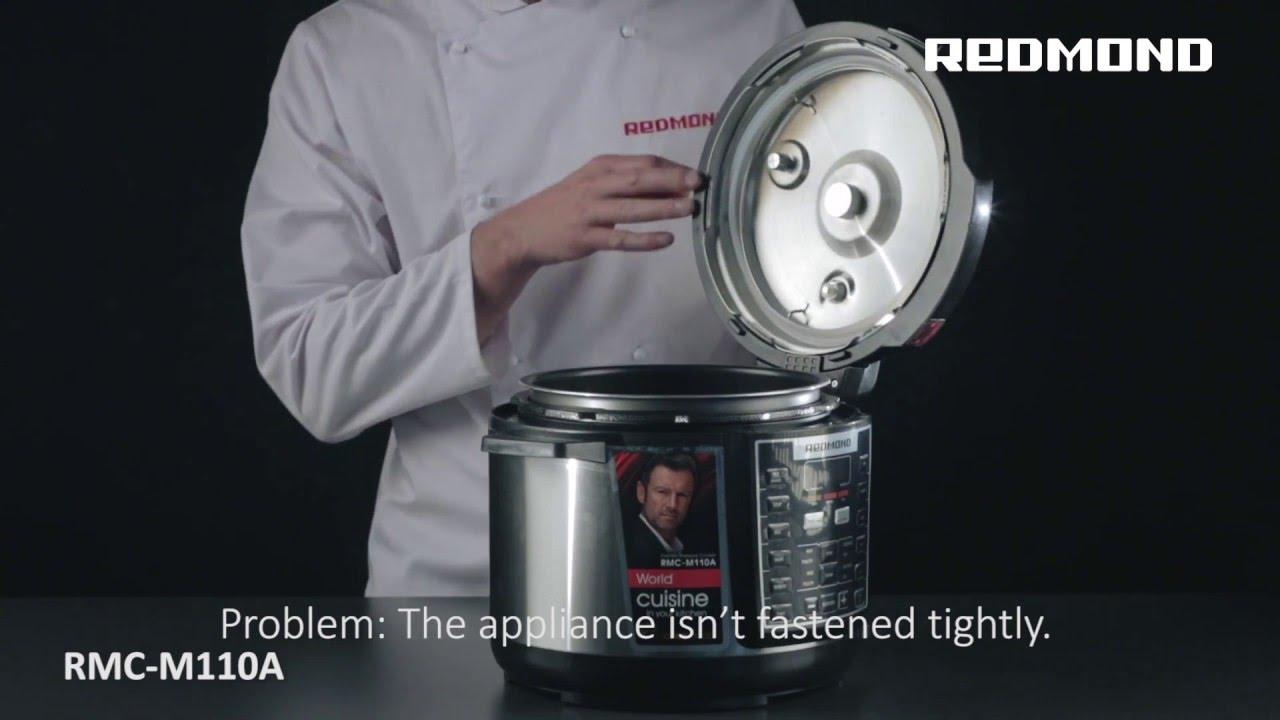 Possible problems and their solutions  The Pressure Multi Cooker REDMOND  RMC-M110A