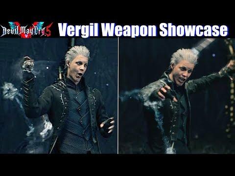 DMC 5 Vergil Weapon Showcase / Vergil envies Dante - Devil May Cry 5 2019 Mod thumbnail
