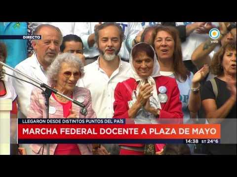 TV Pública Noticias - Marcha Federal Docente a Plaza de Mayo