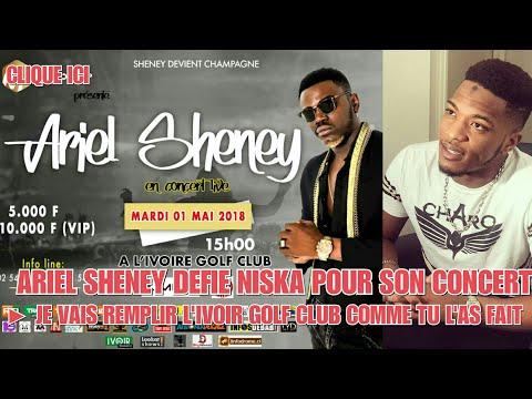 ARIEL SHENEY DÉFIE NISKA POUR SON CONCERT ▶️ JE VAIS REMPLIR L'IVOIRE GOLF CLUB COMME TOI